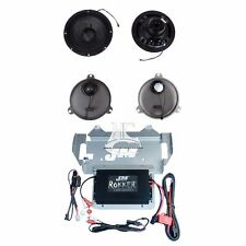 J&M Rokker Extreme 330 Watt 2 Channel Ampliflier Amp Speaker Kit 2014-2017 FLHX