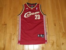 Vintage adidas LEBRON JAMES CLEVELAND CAVALIERS Youth NBA Team Swingman JERSEY L
