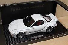 1:18 Ignition Models IG1035 Rocket Bunny Mazda RX7 (FD3S). White