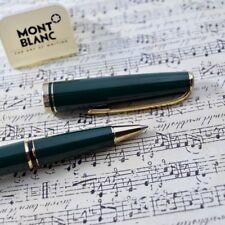 NEW + BOX Montblanc Generation Dark Green & Gold Plated Trim Rollerball Pen