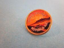 Metal & Enamel Pin Badge. Rotorua, NZ, Buried Village. Good Used Condition