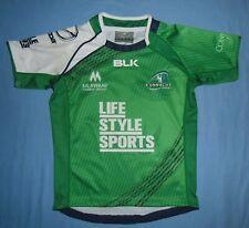 Connacht Rugby (Ireland) / 2015-2016 Away - BLK - JUNIOR Shirt / Jersey. Size 8y