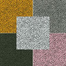 100% Cotton Poplin Fabric Rose & Hubble Ditsy Leopard Skin Print Animal
