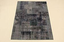 moderne Patchwork Délavé Used Look PERSAN TAPIS tapis d'Orient 2,48 X1, 76