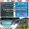 For Aqua Tech 10-20 Power Filter EZ Change #2 Cartridge Compatible Carbon Pads