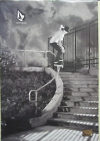 VOLCOM skateboard 2009 DAVID GRAVETTE RIVERBOAT GAMBLERS 2 SIDED POSTER Flawless