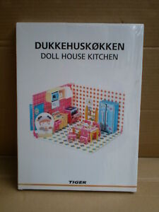 Doll House Kitchen Play Set Craft Paper Furniture Toy Tiger Store Denmark