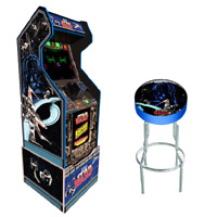Star Wars Retro Arcade1UP Home Cabinet Machine Free Stool Robot Arcade 1UP Riser