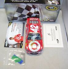 1:24 ACTION 2016 #42 TARGET MICHIGAN 1ST RACE WIN KYLE LARSON AUTOGRAPHED 1/288