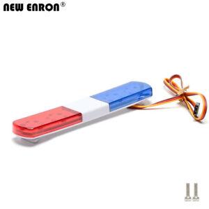 115/145mm 5 Modes Flash LED Light Bar for RC 1/14 1/10 Kyosho Traxxas Tamiya