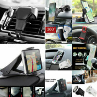 Gravity Car Air Vent Mount Cradle Holder Stand For Smart Mobile Cell Phone 360°