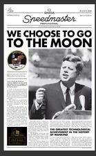 Omega 40th Anniversary Of The Moon Landing Special Edition Newspaper-WOW