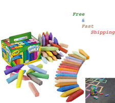 Crayola Sidewalk Washable Chalk Assorted Pack of 48 Best Quality FREE SHIPPING!!