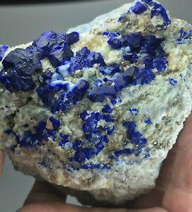 988 GM Hauyne crystals on Matrix Afghanistan