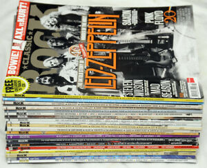 Twenty Classic Rock magazine Large Bundle Job Lot Collection x 20 Issues 2000s