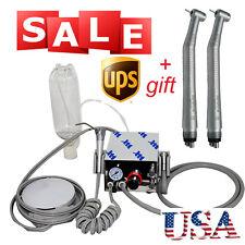 Usa Dental Turbine Unit Fit Air Compressor 4h 2x High Speed 4hole Handpiece Ce