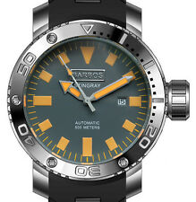 "BARBOS ""Stingray"" Automatik Taucheruhr Wasserdicht 500m/1650ft  Armbanduhr Neu"