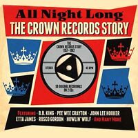 All Night Long - The Crown Records Story 1957-1962 2CD NEW/SEALED
