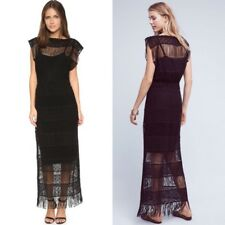 NWoTCallahan Fringe Crocheted Maxi Dress Amelia Nightward