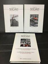 A68 Storia della SHOAH 2 vol + 2 dvd documenti filmati