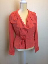 MAURICES  Women Blazer Size Small Orange