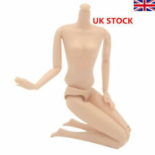 """12 Joint Movable Nude Naked Doll Body For 11.5"""" Doll Body 1/6 BJD Doll Beautiful"""