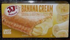 JJ's Bakery Lightly Glazed Snack Pies 4oz (Banana Cream) Remember Hostess (3X)