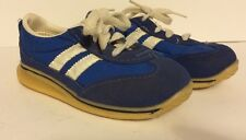 """Vintage Made in USA Youth Tennis Shoes - Size 9 1/2"""" - Blue"""