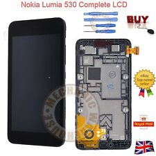 For Nokia Lumia 530 N530 LCD Black display Touch Screen Digitizer & Frame & Tool