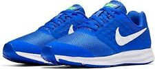 Nike  Boys Sneakers Lace Mega Blue/White/Green Strike Youth Boys Size 6 1/2