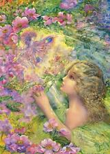 MASTERPIECES JOSEPHINE WALL COLLECTOR TIN PUZZLE SWEET BRIAR ROSE 1000 PCS