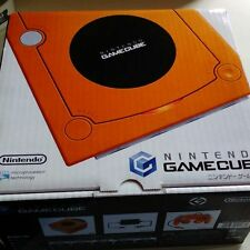 NEW Nintendo Gamecube Orange Console System Japan *GREAT OUTER BOX*