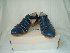 Clarks  leather narrative hotel bustle shoes sandals size UK 4 D EU 37 new