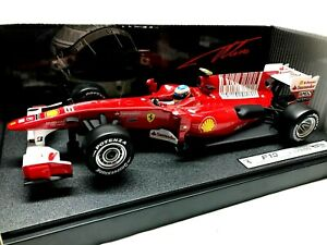 1/18 - FERRARI F 10 BAHRAIN GP EDITION  #8 F. ALONSO - HOT WHEELS - NEW