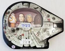 Star Wars PEZ  Collection Millennium Falcon Tin - BB-8, Rey, Han & Chewbacca