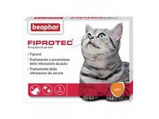 FIPROTEC ANTIPARASSITARIO Gatto 3 pipette Con FIPRONIL mg.50 NO PULCI/ZECCHE
