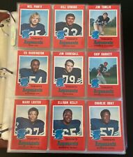 1971 O-Pee-Chee CFL Football Complete Set 132 Cards