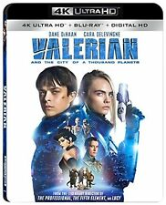 GENUINE VALERIAN AND THE CITY OF A THOUSAND PLANETS 4K ULTRA HD BLU-RAY DIGITAL
