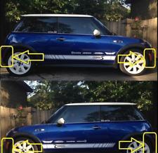MINI R50 R52 R53 Front Bumper Outer Plastic Trim Set Right Side 51117130314