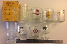 Collection Of 8 Suntory Whisky Tumbler/Glasses,  Japanese Whisky, Whisky Glass