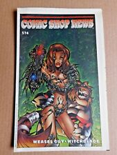 1998 Comic Shop News #574 Weasel Guy Witchblade ~