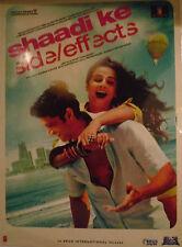 SHAADI KE SIDE EFFECTS - BOLLYWOOD DVD - Eros Bollywood indian movie dvd.