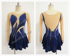 Figure Skating Competition Dress Ice Skating Training Dress Costume Fashion Y148
