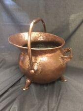 Arts And Crafts Copper Coal Scuttle Circa 1880
