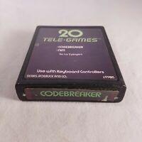 Atari 2600 Codebreaker TESTED & GUARANTEED!!