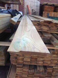 T&G Shiplap Cladding Tanalised4.8mtr long 16mmx125mm (110mm finish)