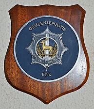 Epe Municipal Police Gemeentepolitie plaque crest shield gedenkplaat