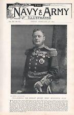 1897 ANTIQUE MILITARY PRINT-VICE-ADMIRAL SIR ROBERT HENRY MORE MOLYNEUX K.C.B