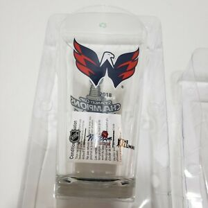 Molson Canadian Stanley Cup Alumni Beer Glass | Washington Capitals NEW