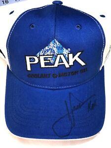 John Force NHRA Autograph Peak Event Hat Autograph Fall Nationals Dallas Tx